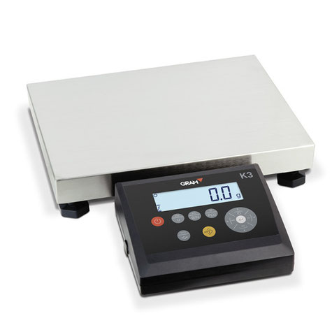 Balanza K3R – La báscula industrial de precisión